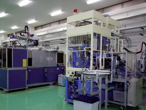 最新の技術を結集した工場